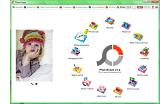 Головне вікно редактора PhotoScape