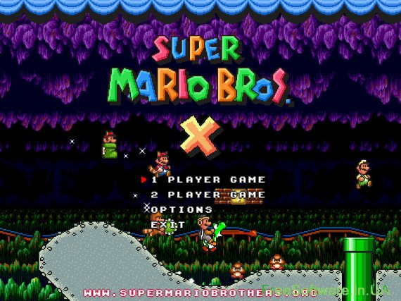 50 рівнівзадоволення (Super Mario Bros. X)