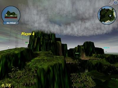 Ще одна з локацій гри Scorched3D