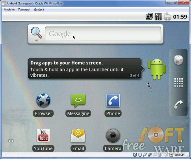 Як запустити Android в ОС Windows