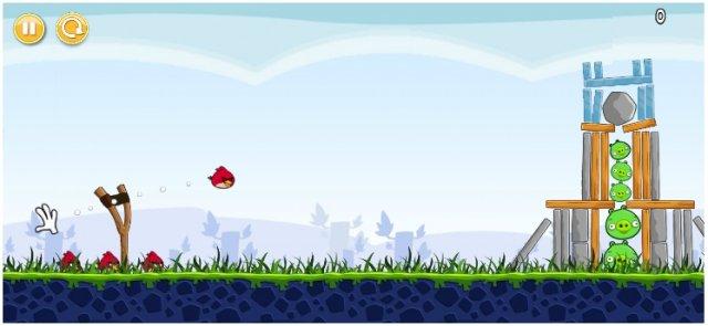 Angry Birds відтепер і в Facebook