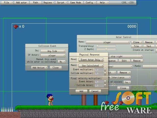 Безкоштовні програми для створення ігор