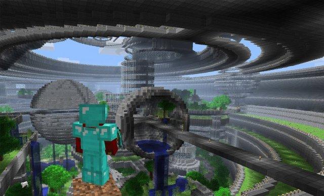 Гігантська споруда в Minecraft
